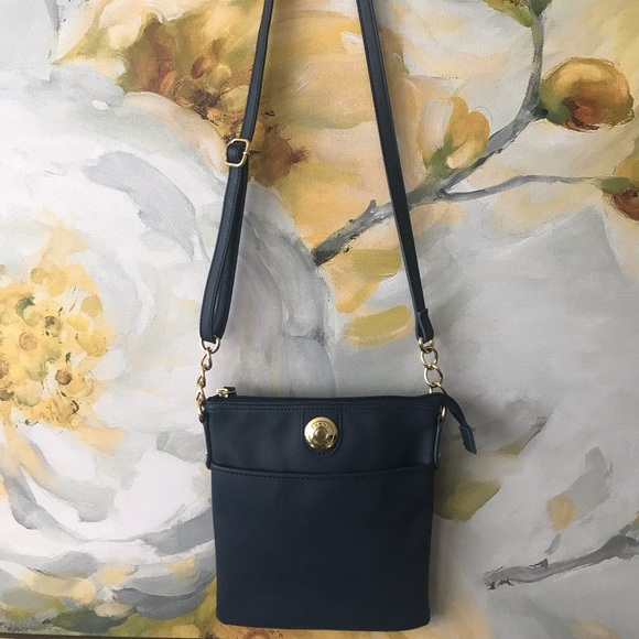 Tommy Hilfiger crossbody. Navy blue. Small
